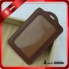 Brown  PU leather id card holder NL1003