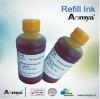 Bulk Universal yellow pigment refill ink for epson