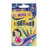 CR 7008A  8 colors small size wax crayon