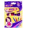 CR 7008B 8 colors crayon for kids