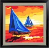 Cheap oilpainting as gifts for kids and adults (40*40cm)