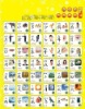 Chinese Characters and English Words Teaching Wall Chart