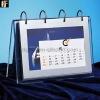 Clear Acrylic table calendar display stand