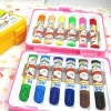 Color  Pen cute rainbow color pencil   water color pencil  1076