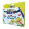 Color wax crayon