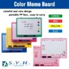 Colored memo board