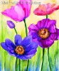 Colorful flower for home decoration wall paintings