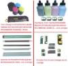 Compatible Konica Minolta Bizhub C220/C280/C360 Imaing Unit Chip,Toner Chip,Refill Color Toner Powder