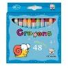 Crayon Series 48 Colours(CE,ASTM-4236)