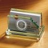 Crystal name card holder /Office Stationery Sets