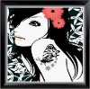 DIY digital Oil Painting on100% cotton Canvas for wall decoration or as gifts(40*40cm)