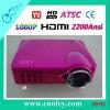 Ditital TV Home LED Projector ATSC