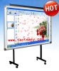 Double users Infrared Interactive Whiteboard for classroom and office