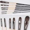 EVAL  squirrel  hair oil painting  brushes set DS308