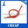 Factory directly selling bendy soft pencil,PVC flexible pencil