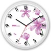 Fashion Glass Wall Flower Clock with clock glass