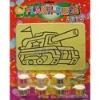 Flash-piece sand art for kids