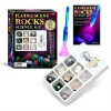 Fluorescent Mineral and rock specimens study kit