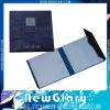 Foldable notepad with side printing (NG)