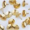 GOLD-PLATED THUMB TACKS