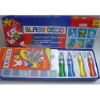 Glass decoration paint set
