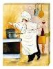 Great cook oil painting