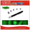 Green Laser Pointer with 5 Star Caps Pattern