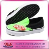 Green Women Rubber Canvas Shoes For 2012