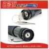 Green laser torch with safety key