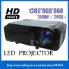 HDMI DVD PROJECTOR with 2800 ANSI lumens, Home Theater Laptop 3*HDMI 2*USB
