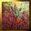 HOT design abstract oil painting for home decoration