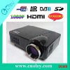 High Brightness1080P LCD DVB-T Projector for Home Cinema