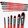 High quality oil paint brushes