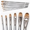 High quality oil paint brushes DS688