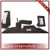 High quality pu desktop organizer set VIDM-015