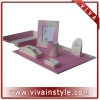 High quality pu leather desktop set VIDM-013
