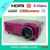 LCD Projector HDMI with High Contrast
