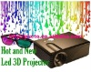 LED PROJECTOR WITH DVB-T/USB 2HDMI FOR HOME CINEMA