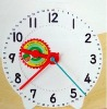 Large Geared Clock for Education, Clock Dials