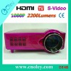 Low Cost 2200Lumens LED Projector TV High Brightness