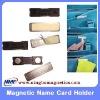 Magnetic Name Card  Holder, magnetic name badge, magnetic badge holder