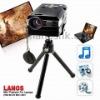Mini LED Pocket Projector  Home Theatre Video Multimedia Projector