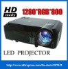 NEW HDMI 1080 LCD Projector 1280*800 LED Lighting Home Theater office Laptop 3*HDMI 2*USB ,Wide Screen,1800:1,Long Life Lamp