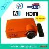 New LED Digital Projector DVB-T/USB/SD