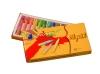 Oil Pastel (12 Color Six-Shaped Oil Pastel)