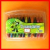 PVC packing color oil pastels ,color crayons,wax colors crayons