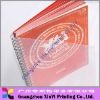 PVC plastic cover Spiral notepad