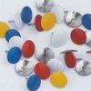 Painted thumb tacks