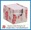 Paper Memo Cube With Box