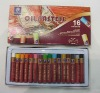 Professional quality 16colors round oil pastels